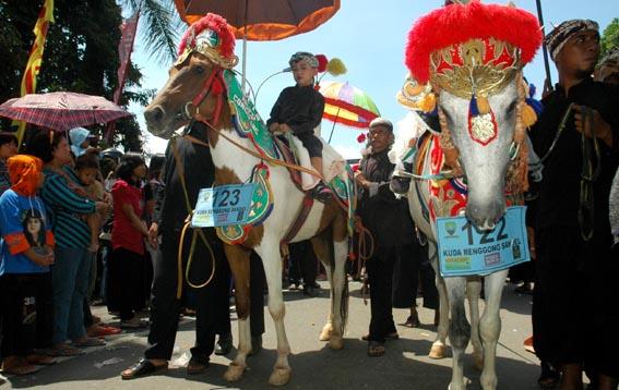 Ilustrasi Kuda Renggongnya persis macam ini (Source: aqiqahcatering.com)
